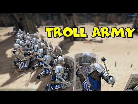 Troll Army Meets Chivalry