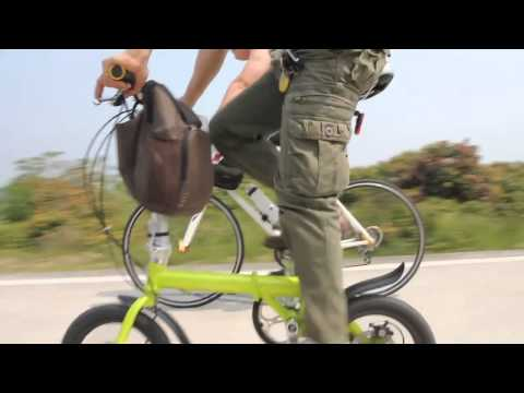 Fast speedy bike-Up to 35 miles/hr NEW invention~14 folding bike faster than Electronic Bike