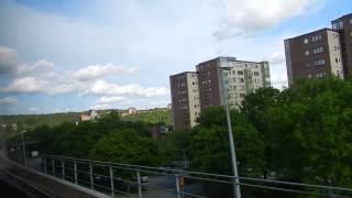 Stockholm - Tunnelbana Ride - Red Line (Norsborg Branch) 2015 06 21