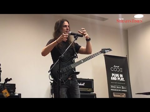 Megadeth's Kiko holds two-hour guitar clinic for Malaysian fans
