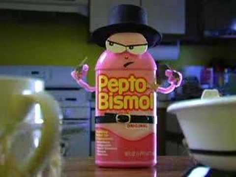 Pepto Bismol - Eat on.
