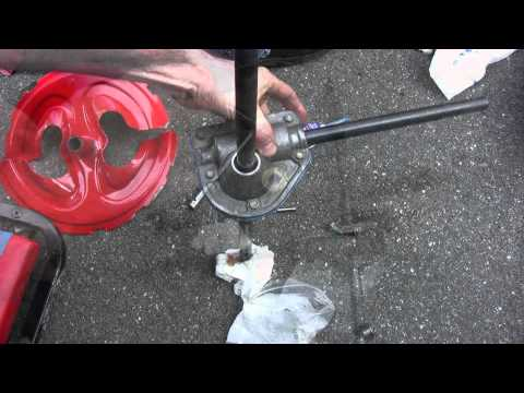 Troy-Bilt (MTD) Storm 2620 Snowblower Auger Gear Repair - Part 2