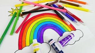 Oyuncak bebek Niloya ile renkleri öğreniyoruz