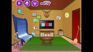 Escape Blazing Room Game Walkthrough