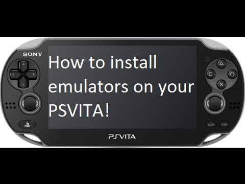 How to install Emulators on Ps Vita