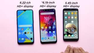Realme 3i vs Redmi 7A vs Infinix Hot 7: Comparison Hindi