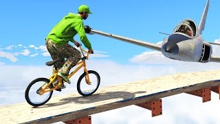 IMPOSSIBLE TIGHTROPE CHALLENGE! (GTA 5 Funny Moments)