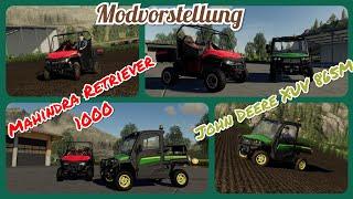 LS19 PS4-Modvorstellung | Mahindra Retriever 1000 | John Deere XUV 865M | Landwirtschaft Simulator19