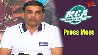 Dil Raju Press meet About MCA (Middle Class Abbayi) Movie | Nani, Sai Pallavi
