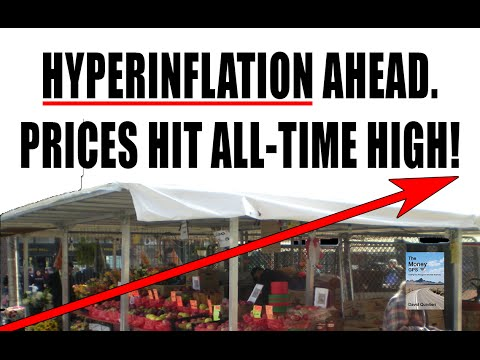 Hyperinflation CRISIS Caused by Fed Will Destroy U.S. Dollar!
