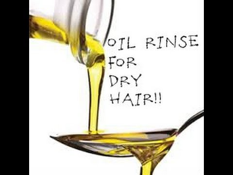 Oil Rinse for Natural Hair!