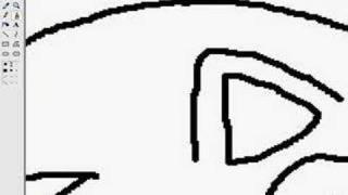 Рисовать в паинте мышкой