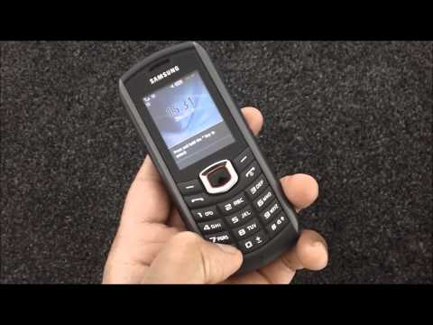 Samsung GT B2710 Solid Immerse Xcover mobile phone. tough phone. Builders phone. Review.