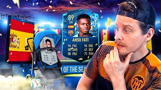 IT FINALLY HAPPENED! 89 TOTSSF PLAYER MOMENTS ANSU FATI PLAYER REVIEW! FIFA 20 Ultimate Team
