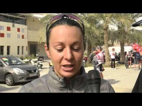 Rachel Joyce & Jodie Swallow - Bahrain Post Race