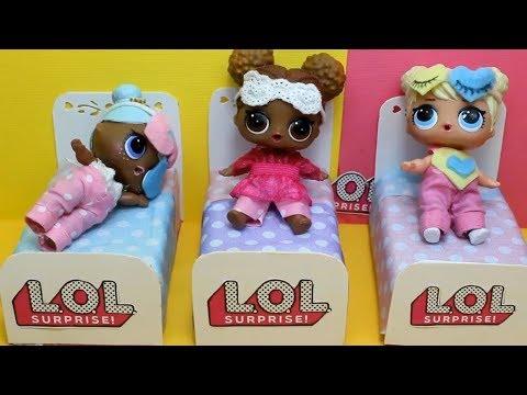 Для кукол  ЛОЛ  своими руками.   Как сделать одежду для кукол Lol Surpise  ПИЖАМЫ