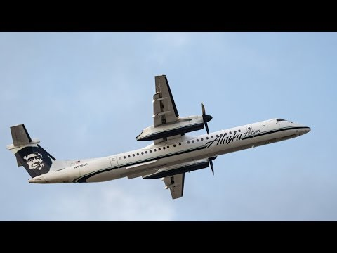 Man hijacks Alaska Airlines plane at Seattle Airport, crashes it on Ketron Island