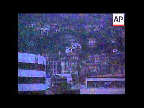 BOSNIA: SARAJEVO: DUTCH PEACEKEEPER KILLED