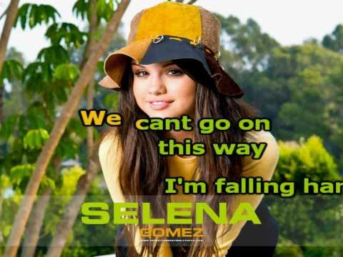 Selena Gomez Round & Round Karaoke