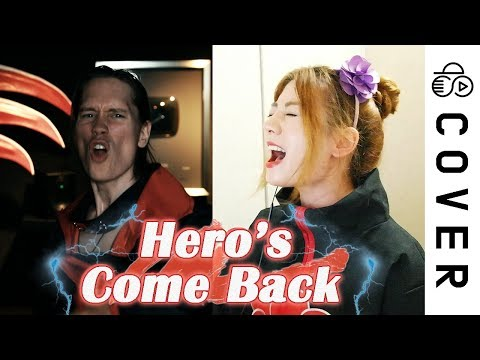 NARUTO SHIPPUDEN OP1 - Hero's Come Back┃Cover By Raon Lee X PelleK