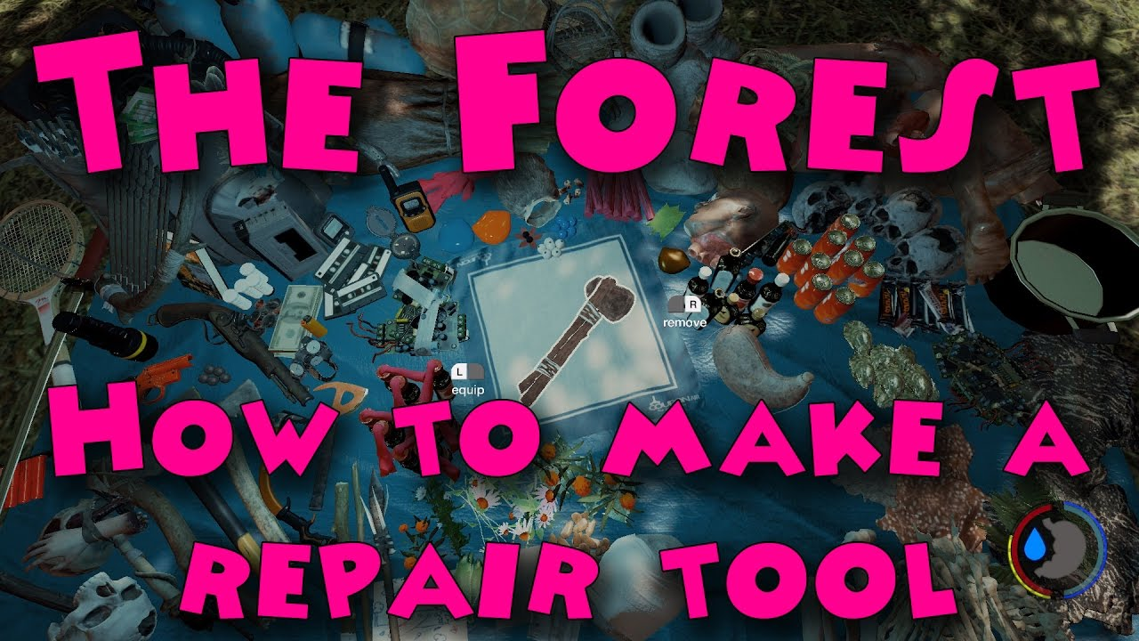 Как сделать repair tool в the forest 926
