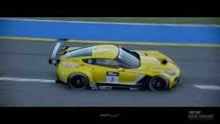 Gran Turismo Sport E3 2017 BlueMoonBay C7 Replay HD