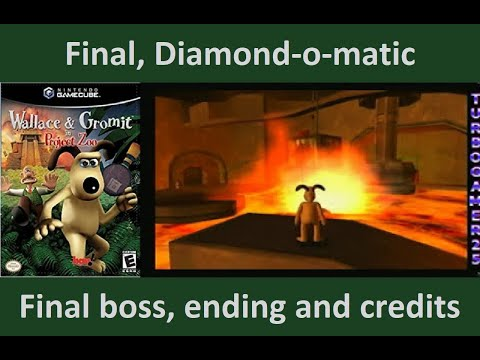 Wallace And Gromit In Project Zoo Final, Diomond-o-matic, Final Boss, Ending And Credits video
