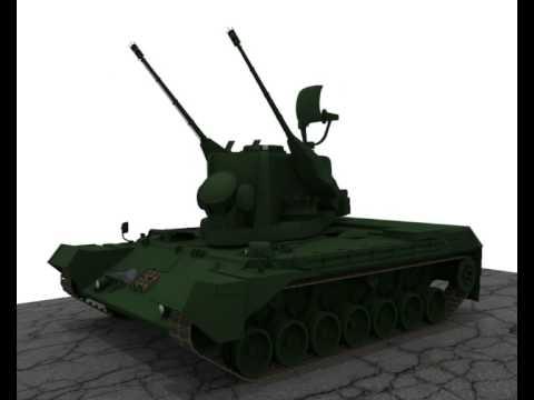 Gepard Self-propelled Anti-aircraft Gun Self-propelled Anti-aircraft