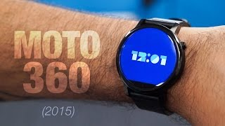New Moto 360 Unboxing & Impressions! (2015)