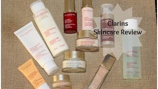 Clarins Anti Aging Skincare Review