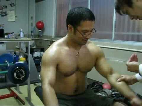 muscle chest japan