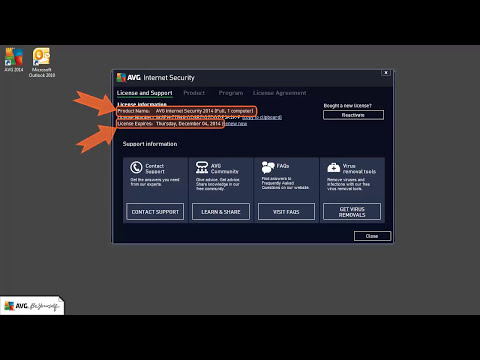 AVG 2014 - Product Activation Tutorial | How To Upgrade, Renew and Increase Your License 2
