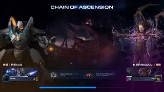 Starcraft 2 Co-op: Chain of Ascension - Fenix | Brutal Difficulty