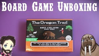 The Oregon Trail: Hunt for Food | Card Game Unboxing | Gaming with Walrus