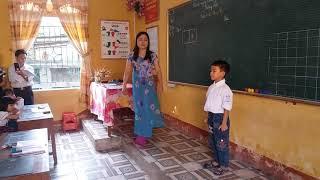 Tiếng Việt công nghệ lớp 1. Mâuc 1. Bài âm t