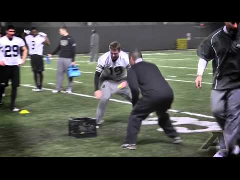 2014 Army Football Mat Drills