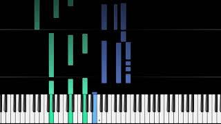 SIA   RAINBOW MY LITTLE PONY THE MOVIE PIANO TUTORIAL