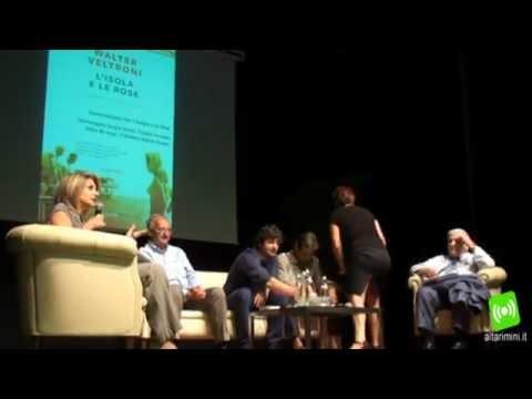 Veltroni a Rimini presenta la sua Isola delle Rose con Zavoli, De Luigi e Tiziana Ferrario