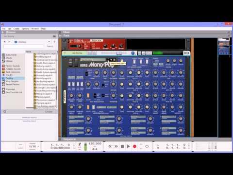 Korg MonoPoly Extension Refill by Navi Retlav Studios FULL Patch Demo