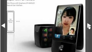 Mobil super flexible Samsung amoled flexible
