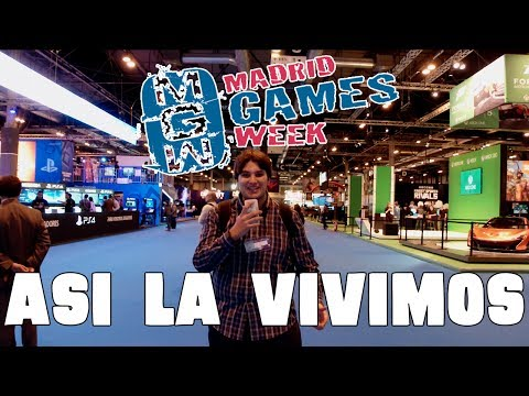 ASÍ VIVIMOS MADRID GAMES WEEK - BEST VLOG EVER!