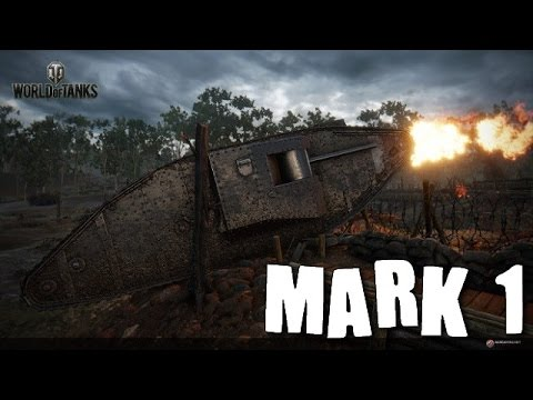 World of tanks blitz - Gameplay du Mark1