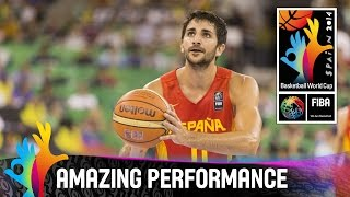 Ricky Rubio - Amazing Performance - 2014 FIBA Basketball World Cup