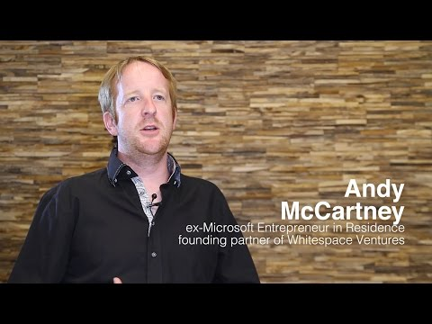 Andy McCartney, Whitespace Ventures -  Europe's Corporate Startup Stars