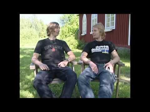 Erik Lundberg & Fredrik Linström 2007 SVT arkiv