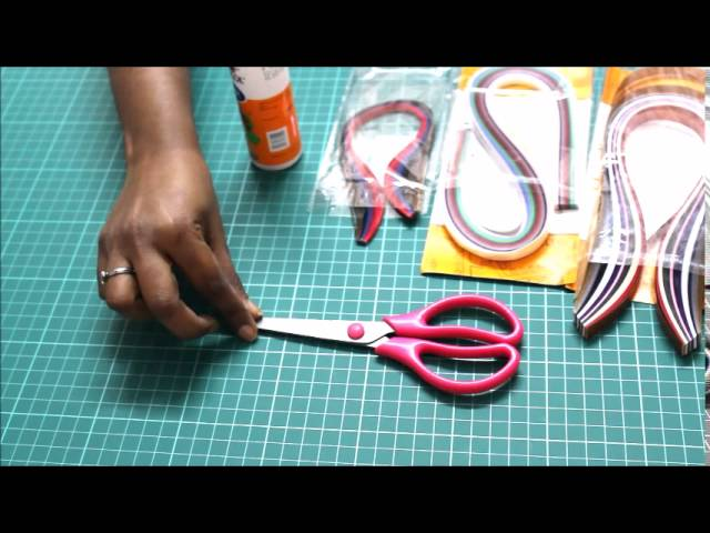 Quilling Lesson 1