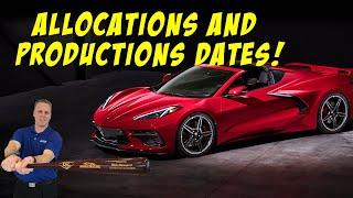 2020 Corvette MidEngine TRIM LEVELS explained. Plus allocation and production dates.