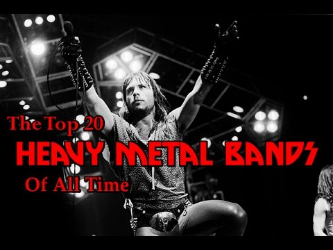 The Top 20 Metal Bands Of All Time Music Videos