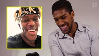 KSI FaceTimes Anthony Joshua Ahead Of KSI vs. Logan Paul 2