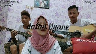 Dalan liyane - Hendra kumbara cover by awang ft syaabeby & gilang jembel